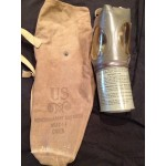 WW2 Noncombatant Gas Mask For Child (Model # MIA2-1-1) with case